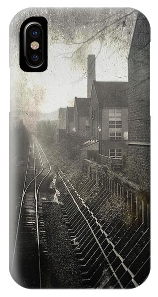 Sleeper iPhone Case - Old Railway Line by Dave Bowman