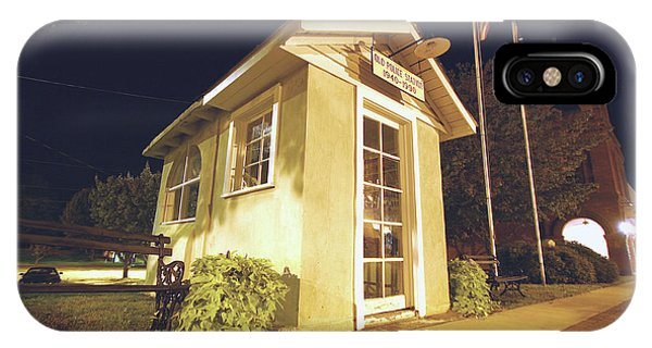 Old Ridgeway Police Station IPhone Case