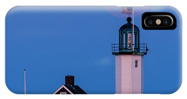 Old Scituate Light IPhone Case