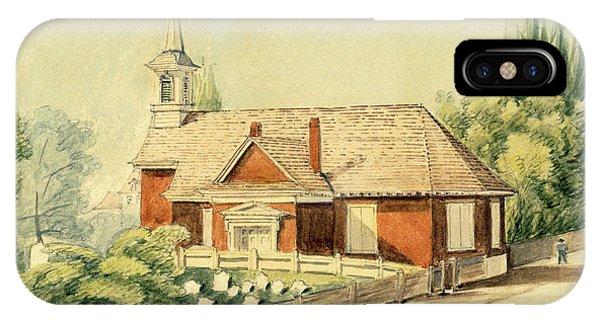 Old Swedes' Church, Southwark, Philadelphia IPhone Case