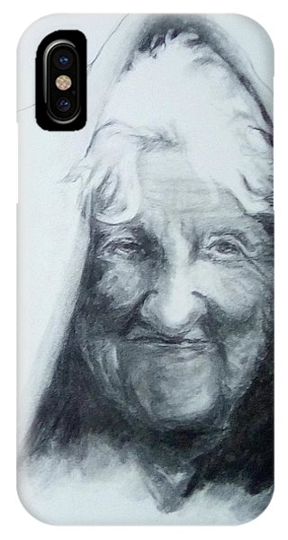 Old Woman IPhone Case