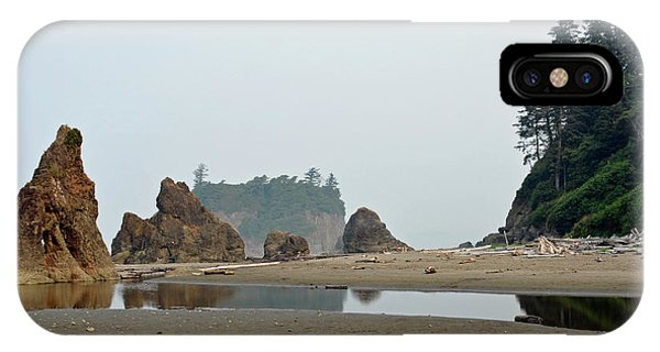 Olympic National Park Seastacks IPhone Case