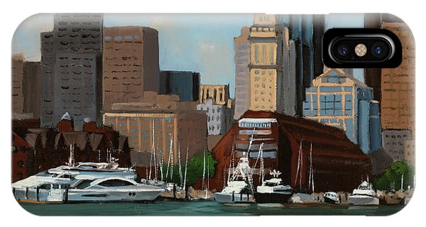 New England Coast iPhone Case - On A Clear Day by Laura Lee Zanghetti
