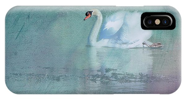 Teal Swan iPhone Case - On Parade by Cynthia Alvado