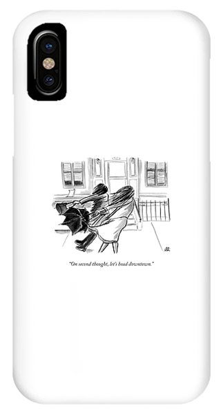 On Second Thought IPhone Case