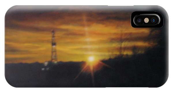 IPhone Case featuring the painting On The Horizon by Tammy Taylor