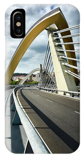 Millennium Bridge In Ourense, Spain IPhone Case