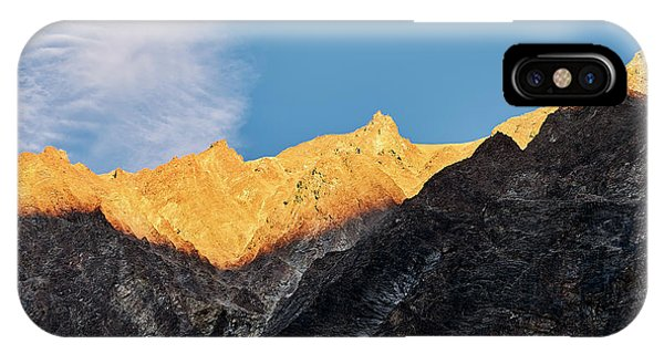 IPhone Case featuring the photograph On The Ridge by Whitney Goodey