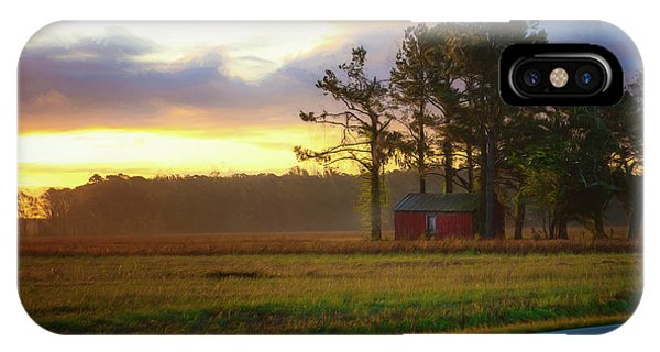 IPhone Case featuring the photograph Onc Open Road Sunrise by Cindy Lark Hartman