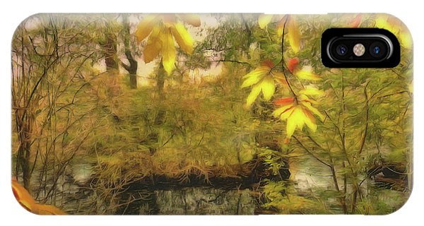 Once A Pond A Time IPhone Case