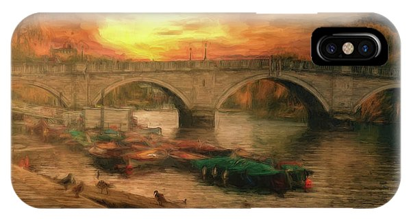 Once More To The Bridge Dear Friends IPhone Case