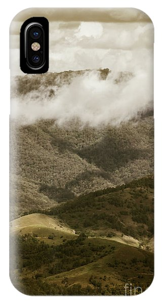 Beauty In Nature iPhone Case - Oncoming Rains by Jorgo Photography - Wall Art Gallery