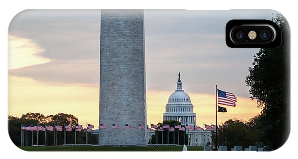 One Capitol Morning IPhone Case