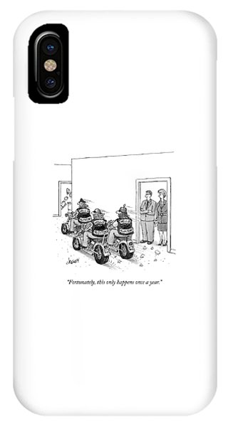 Only Happens Once A Year IPhone Case