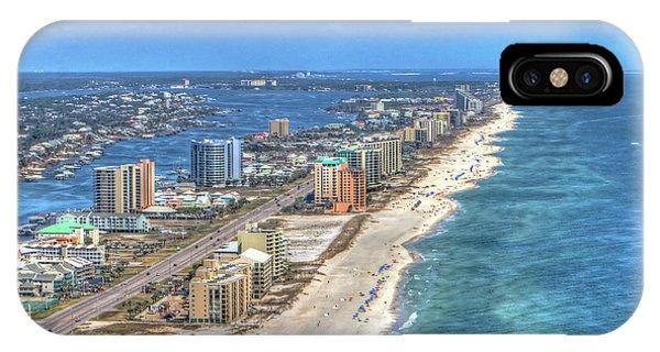 Orange Beach East IPhone Case