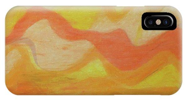 Orange Colors 1 IPhone Case