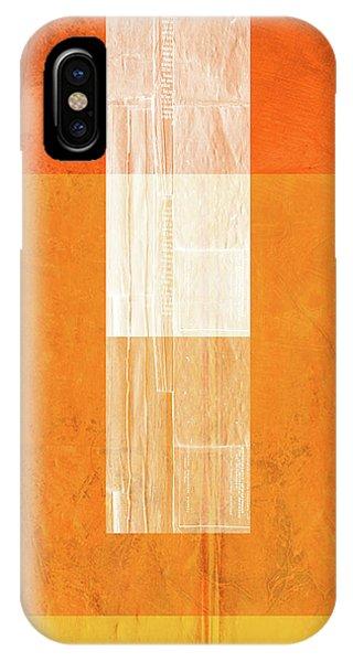 Century iPhone Case - Orange Paper II by Naxart Studio