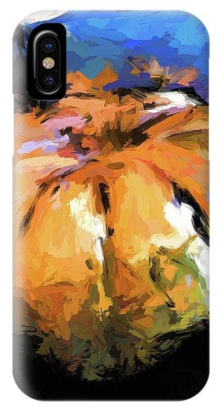Orange Pumpkin IPhone Case
