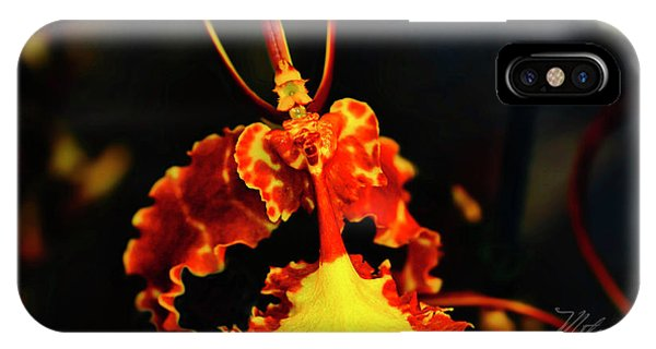 Orchid Study Four IPhone Case