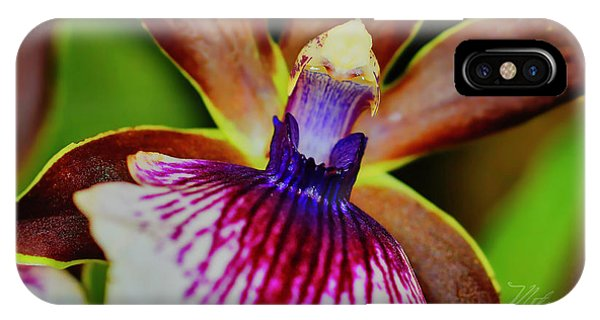 Orchid Study Two IPhone Case