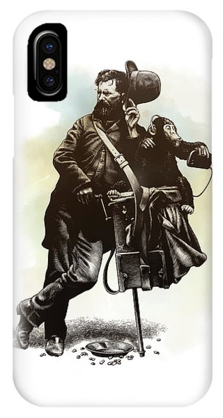 Organ Grinder IPhone Case
