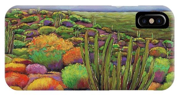 Cactus iPhone Case - Organ Pipe by Johnathan Harris