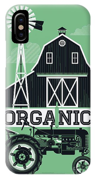Farmland iPhone Case - Organic Poster Or Web Banner Template by Mascha Tace