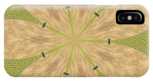 Meditative iPhone Case - Ornament Number Three by Alex Caminker