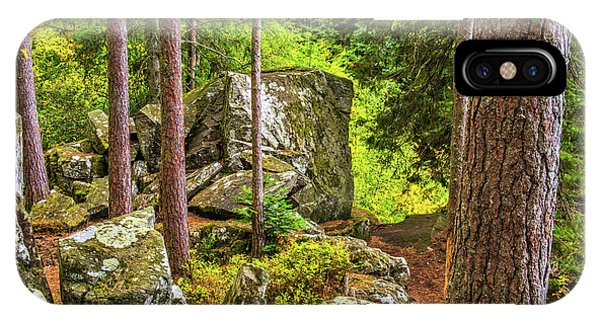 Ossian's Seat, The Hermitage, Perthshire Phone Case by David Ross