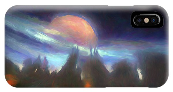 Other Worlds II IPhone Case
