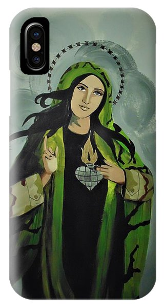 Our Lady Of Veteran Suicide IPhone Case