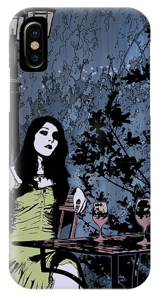 Out At Night IPhone Case