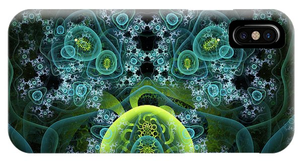 IPhone Case featuring the digital art Out Of Focus by Jeff Iverson
