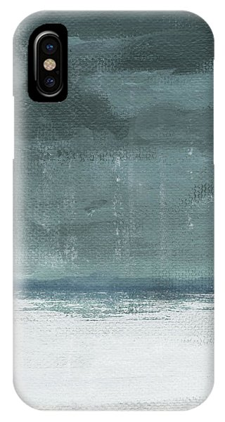 Sky iPhone Case - Overcast 2- Art By Linda Woods by Linda Woods