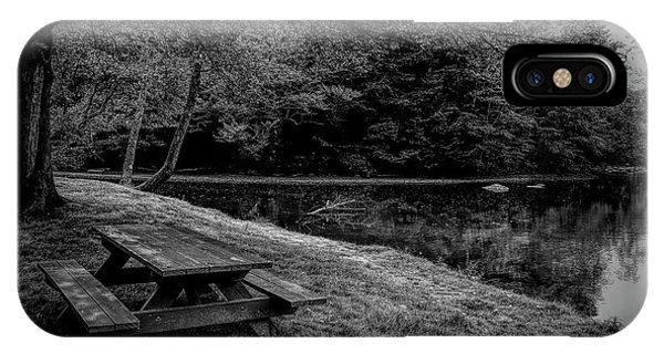 Overlooking The Sugar River IPhone Case