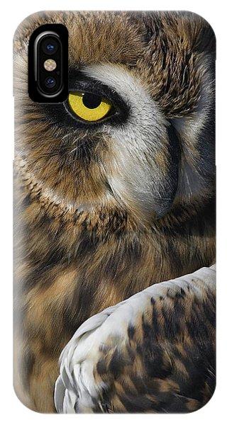 Owl Strikes A Pose IPhone Case