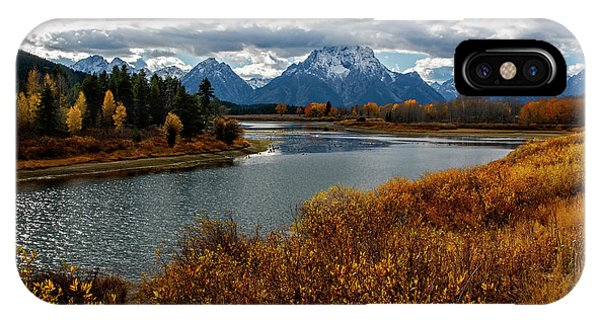 IPhone Case featuring the photograph Oxbow Bend by Scott Read