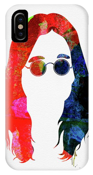 Print iPhone Case - Ozzy Watercolor by Naxart Studio