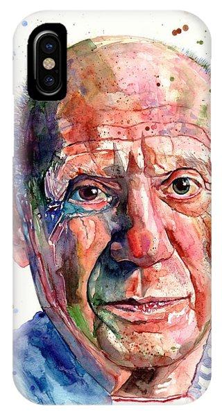 20th iPhone Case - Pablo Picasso Portrait by Suzann Sines