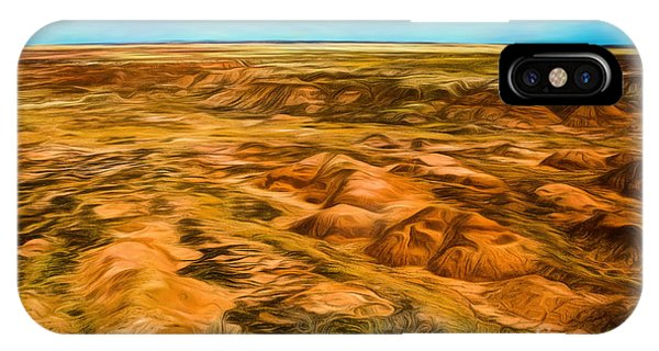 IPhone Case featuring the photograph Painted Desert Far View by Jon Burch Photography
