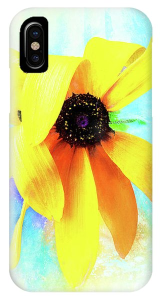 Flopsy - A Charming Wild Black-eyed Susan  IPhone Case