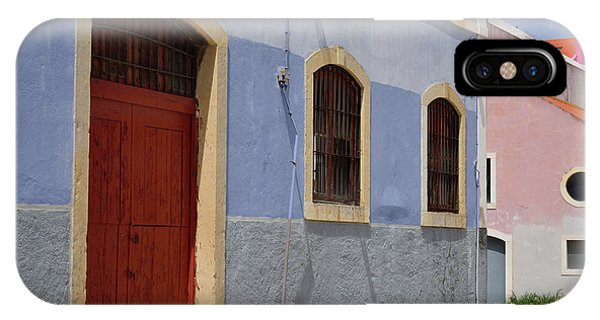 iPhone Case - Painted Warehouses In Lisbon by Kathy Yates