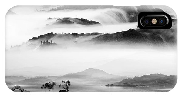 Cloudscape iPhone Case - Painting Style Of Chinese Landscape For by Nh