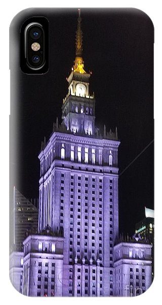 Palace  Of Culture And Science  IPhone Case