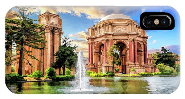 Palace iPhone Case - Palace Of Fine Arts In San Francisco by Christopher Arndt