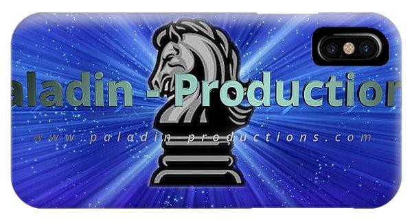 Paladin-productions.com Logo IPhone Case