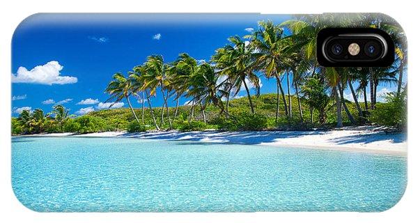 Palm And Tropical Beach Phone Case by Akugasahagy