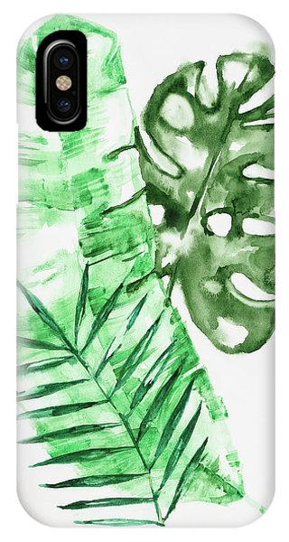Palm Leaves-banana, Coconut, Monstera IPhone Case