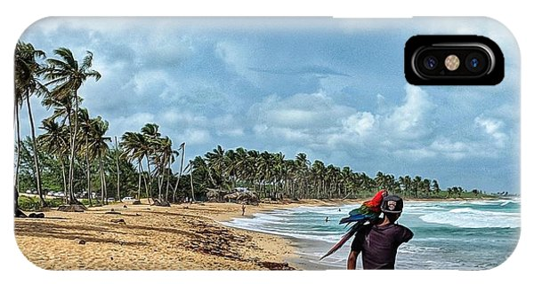 Palm Tree Paradise IPhone Case