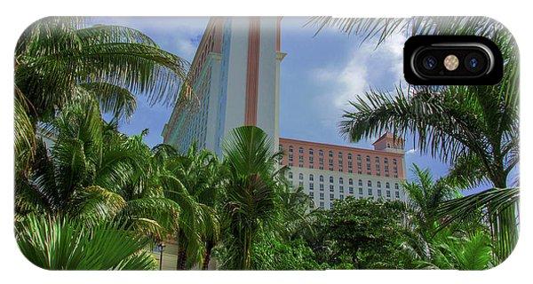 Palms At The Riu Cancun IPhone Case